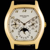Patek Philippe Perpetual Calendar Yellow gold 35mm Silver Arabic numerals United Kingdom, London