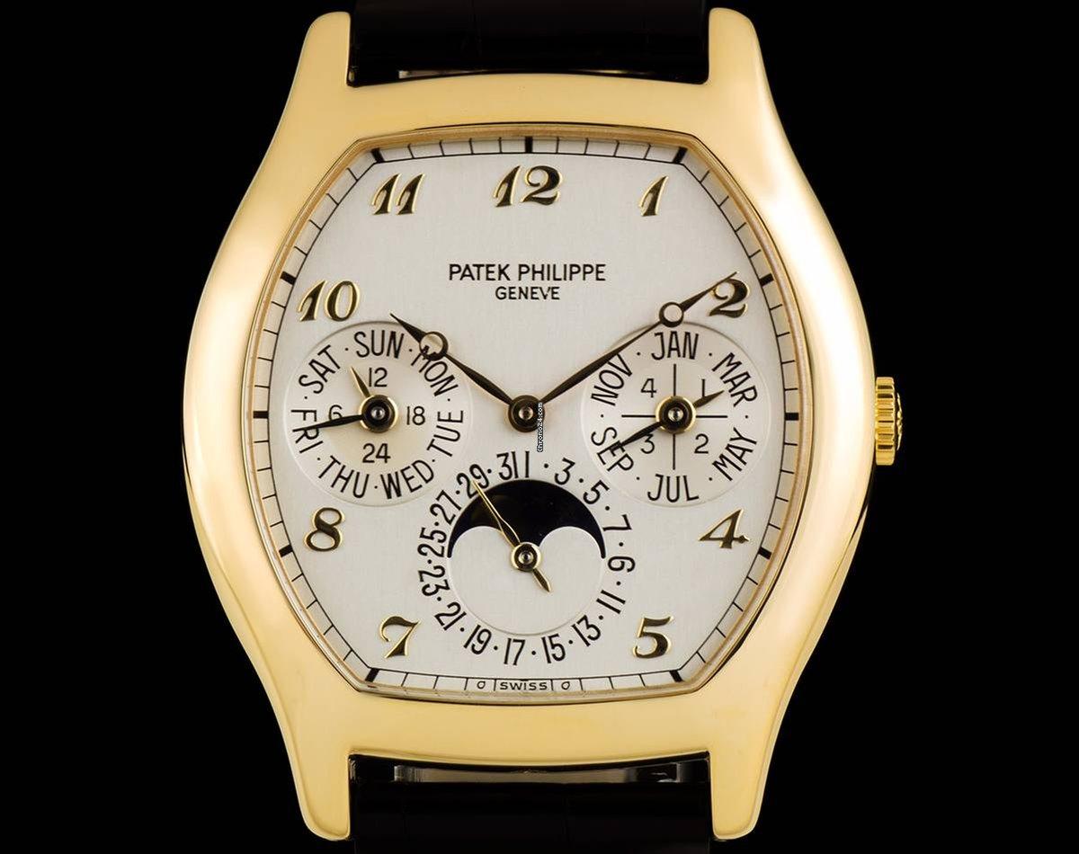 Patek Philippe Perpetual Calendar Patek Philippe Perpetual Calendar 5040J 1997 occasion