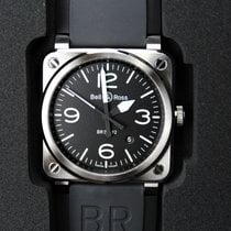 Bell & Ross BR 03-92 Steel BR0392-BLC-ST 2020 new
