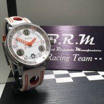 B.R.M Zeljezo 38mm Automatika B.R.M Automatic Chronographen V7 Damen Uhr Weiss Orange nov