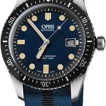 Oris 01 733 7720 4055-07 5 21 28FC Steel Divers Sixty Five 42mm new