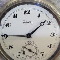 Rewel Swiss Made Mechanical  Poket Watch Cal SU 3602 gebraucht