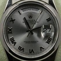 Rolex 118209 Белое золото 2003 Day-Date 36 36mm подержанные