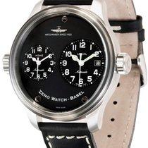 Zeno-Watch Basel Stahl 47.5mm Automatik 8671-a1 neu