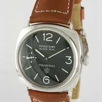 Panerai Radiomir Black Seal tweedehands 44mm Zwart Leer