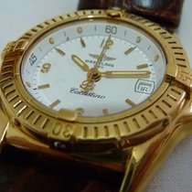 Breitling Callistino pre-owned 28mm White Leather