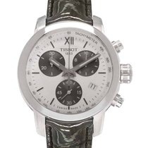 Tissot PRC 200 new 35mm Steel. Tissot PRC200 Chronograph White Dial Quartz  Ladies ... 3b054b541f8