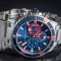Ulysse Nardin Diver Chronograph Steel 44mm Blue