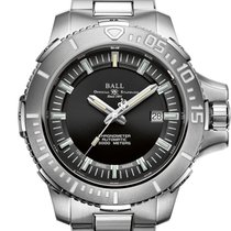 Ball Engineer Hydrocarbon Deepquest Titanium 43mm Black