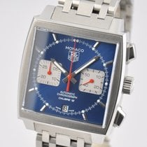 TAG Heuer Monaco Calibre 12 Steel 39mm Blue No numerals United States of America, Ohio, Mason