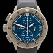 Sinn U1000 Steel 44mm Blue No numerals