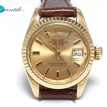Rolex Oyster Perpetual Lady Date Oro amarillo 26mm Champán Sin cifras España, Benicarló