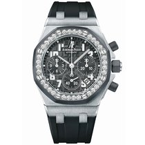 Audemars Piguet Royal Oak Offshore Lady Steel 37mm Black Arabic numerals United Kingdom, London