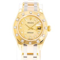 Rolex Lady-Datejust Pearlmaster Yellow gold 29mm Champagne United States of America, Georgia, Atlanta