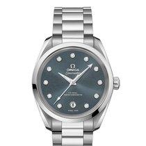 Omega Seamaster Aqua Terra Steel 38mm Blue No numerals