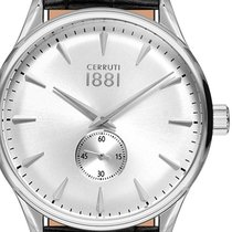 Cerruti Steel 43mm Quartz CRA24005 new