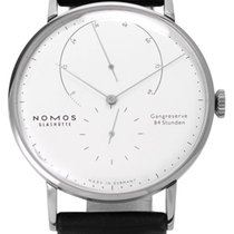 NOMOS White gold Manual winding 42mm pre-owned Lambda