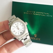 Rolex Oyster Perpetual 26 Gold/Steel 26mm White Arabic numerals