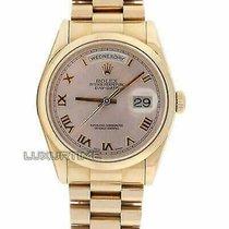 Rolex Day-Date 36 Rose gold 36mm Roman numerals