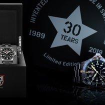 Luminox Steel Quartz Black Arabic numerals 42mm new