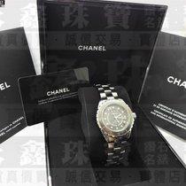 Chanel J12 CHANEL 香奈兒 J12 H3242 12鑽 鈦陶瓷腕錶 38毫米 公司貨 n0459 2012 gebraucht