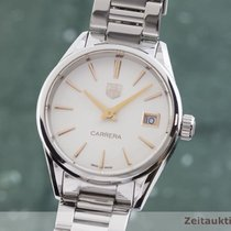 TAG Heuer Carrera Lady Steel 32.5mm Silver