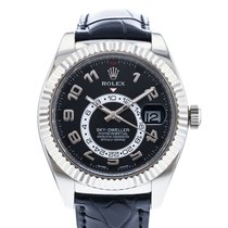 Rolex Sky-Dweller White gold 42mm Black United States of America, Georgia, Atlanta