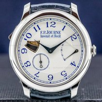 F.P.Journe Souveraine Steel 40mm Silver Arabic numerals United States of America, Massachusetts, Boston