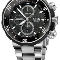 Oris ProDiver Chronograph 01 774 7683 7154-Set new