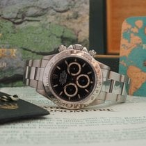 Rolex Daytona Zenith Ref. 16520 Serial W Box and Papers