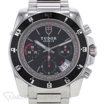 Tudor Grantour Chrono Steel 40mm Black No numerals