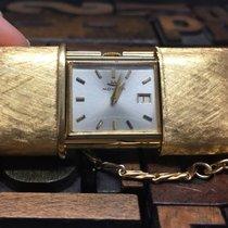Movado Ermeto 18Kt Gold Table Clock