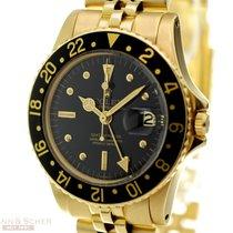 Rolex Vintage GMT-Master Ref-1675 18k Yellow Gold Jubilee...