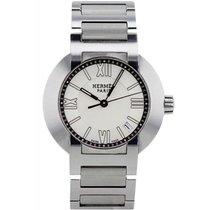 Hermès Nomade Stahl 28mm Grau