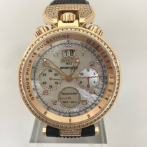 Bovet Red gold Automatic Mother of pearl 46mm new Sportster
