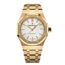 Audemars Piguet Royal Oak Selfwinding Yellow gold 37mm Silver United States of America, Pennsylvania, Southampton