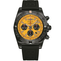 Breitling Chronomat 44 Blacksteel MB0111C3/I531/262S/M20DSA.4 neu