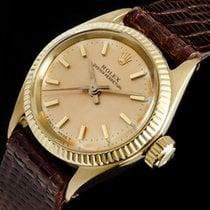 Rolex 6619 Yellow gold 1975 Oyster Perpetual 24mm pre-owned