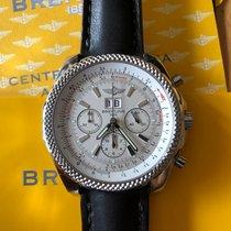 Breitling Bentley 6.75 Steel 48mm Black No numerals