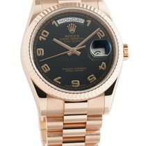 Rolex 118235 Rose gold Day-Date 36 36mm pre-owned United States of America, New York, New York