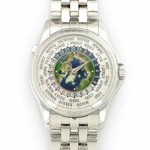 Patek Philippe Platinum Automatic No numerals 39.5mm new World Time