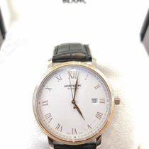 Montblanc Gold/Steel 40mm Automatic 114336 new