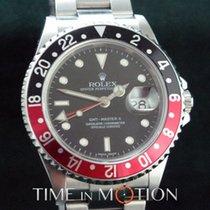 Rolex GMT MASTER II 16710 No Holes Pepsi Certif Rolex + Boite