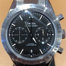 Omega Speedmaster '57 Stål 41.5mm Sort Ingen tal