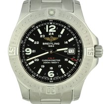 Breitling Colt Quartz Steel 44mm Black Arabic numerals United States of America, Georgia, Atlanta