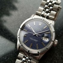 Rolex Oyster Perpetual Date Steel 35mm Blue United States of America, California, Beverly Hills
