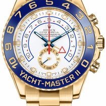 Rolex Yacht-Master II Yellow gold 44mm White No numerals United States of America, Iowa, Des Moines