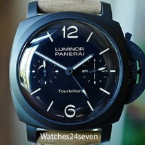 Panerai Black Arabic numerals 48mm pre-owned Special Editions