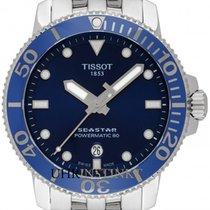 Tissot Seastar 1000 Zeljezo 43mm Plav-modar