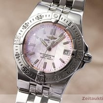 Breitling Starliner Acero 29.5mm Madreperla